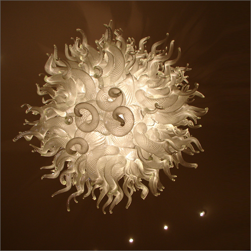 Wedding Centerpieces Multi Colored Ceiling Light Dale Chihuly Style Murano Glass Arabia Chandelier