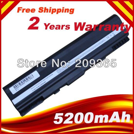 Laptop Battery For 90-NX62B2000Y 9COAAS031219 A31-UL20 A32-UL20  Eee PC 1201 1201HA 1201N 1201T UL20A UL20FT