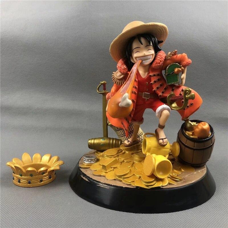 One Piece Treasure Monkey D Luffy Eat A Chicken Leg Rubber