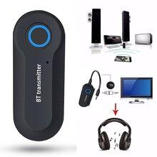 Bluetooth אודיו משדר מקלט BT 4.2 אלחוטי אודיו מתאם פולט 3.5mm Compatibale עם טלוויזיה מחשב אוזניות