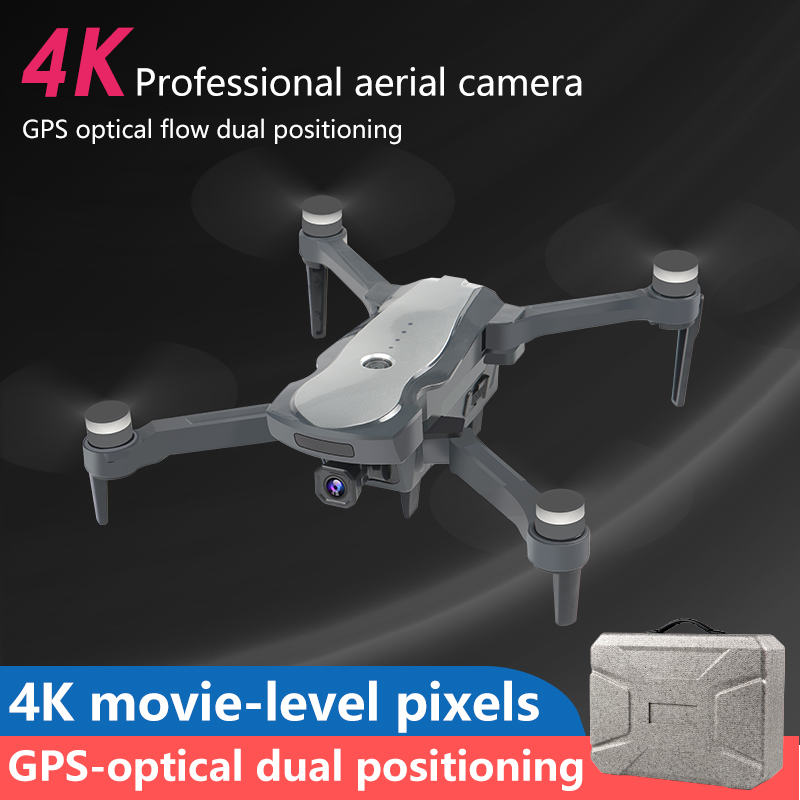 TECH-CORE  2020 5G drone K20 brushless motor equipped with GPS and 4K HD dual camera quadcopter 1800M r/c distance Follow Me (4k with 1 bag 1B)