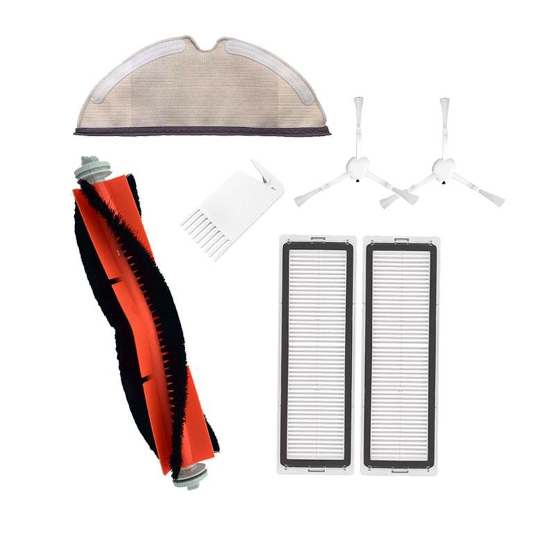 Brush Filter Replacement Accessories for Xiaomi Mijia 1C Robot Vacuum Cleaner