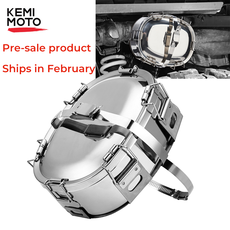 Snowmobile Food Warmer Exhaust Cooker Stainless Snowmobile Parts Heated Lunch Box For Polaris ATV Snowplows Automobiles Tractors