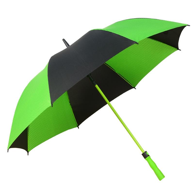 Umbrella Advertising Umbrella Printed Logo Shang Wu San Fiber Ultra Large Long Handle Golf Umbrella Straight Pole Rain Or Shine