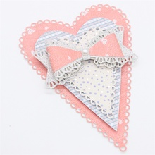 Scalloped Hearts Metal Cutting Dies