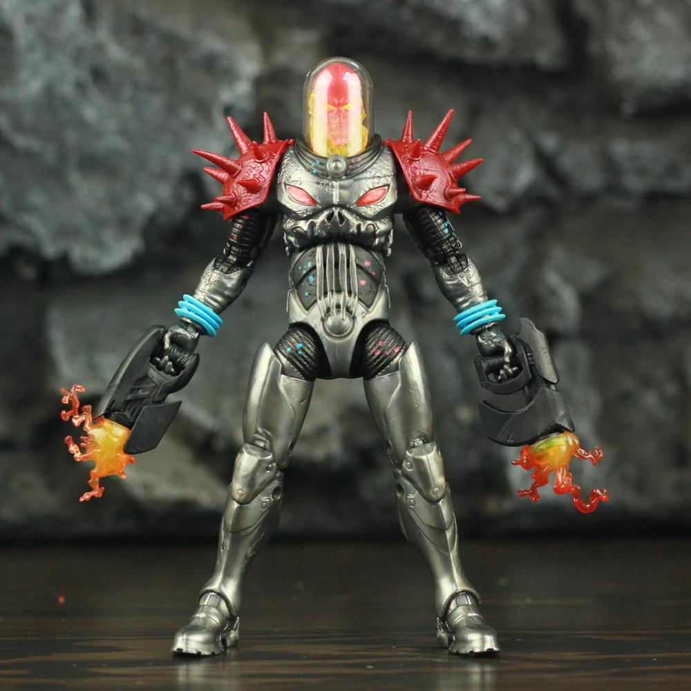 """Image 5 - Marvel Legends Cosmic Ghost Rider 6"""" Action Figure Fire Whip Without Motorbike From Vehicle Set Riders Series Original Toys DollAction & Toy Figures   -"""