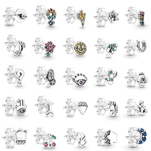 NEW 2019 100% 925 Sterling Silver 1:1 Winter Series My Love Beautiful Animal Ear