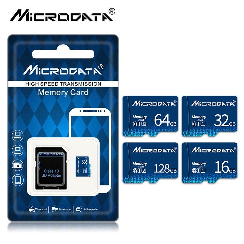 Высокоскоростная флэш-карта памяти 256 ГБ 128 Гб 64 Гб micro sd 32 ГБ 16 ГБ 8 ГБ класс 10 флэш-накопитель SD/TF-карта для xiaomi/huawei/ Samsung