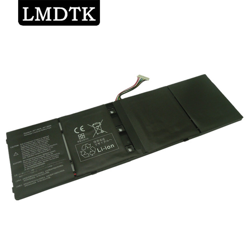 LMDTK New Laptop Battery For Acer 552PG Aspire V5-552G V5-573P M5-583 V5-552P M5-583P V5-552PG V7-481 V7-481P V5-573 AP13B3K