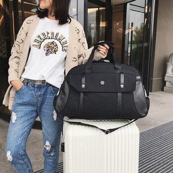 Short-distance travel bag portable large-capacity men's luggage sports fitness bag women's fashion single shoulder diagonal
