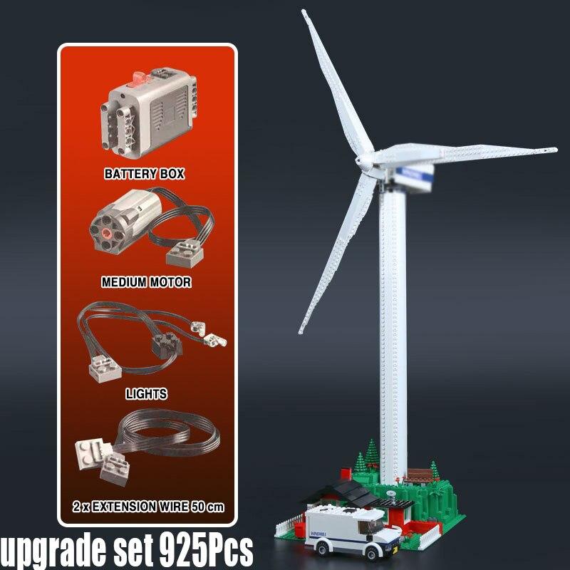 37004 925pcs สร้างสรรค์ turbine motor function building blocks ใช้งานร่วมกับ Legoingly 10268 เด็กของเล่นคริสต์มาส-ใน บล็อก จาก ของเล่นและงานอดิเรก บน   2
