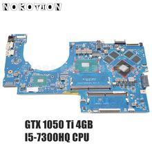 NOKOTION Für HP Pavilion 17-AB 17-W serie Laptop motherboard 915468-601 915468-001 DAG37DMBAD0 GTX 1050 ti 4GB I5-7300HQ DDR4