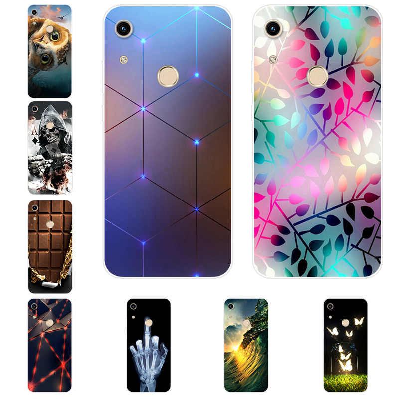 ซิลิโคนสำหรับ Huawei Honor 20 6X 6A V9 Play 7X9 lite Case Capas สำหรับ Honor 10 9i V20 8C 9X 10i 8A 8S 7C 7A Coque
