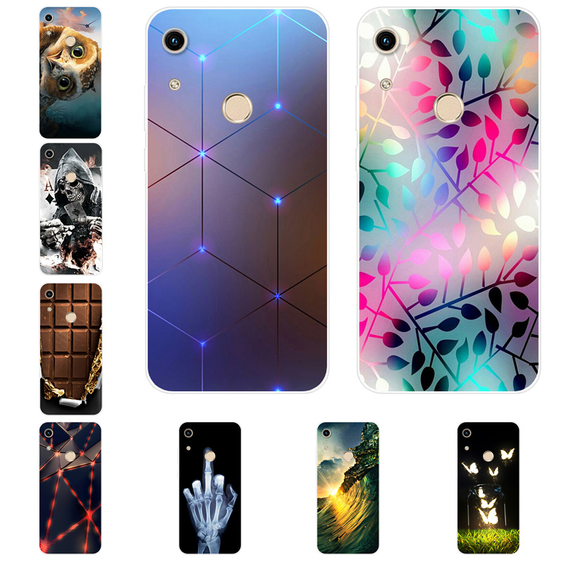 Silicone <font><b>Case</b></font> For Huawei <font><b>Honor</b></font> 20 6X 6A V9 Play 7X 9 <font><b>lite</b></font> <font><b>Case</b></font> Soft Capas For <font><b>Honor</b></font> 10 9i V20 8C 9X 10i 8A 8S 7C 7A Cover Coque image