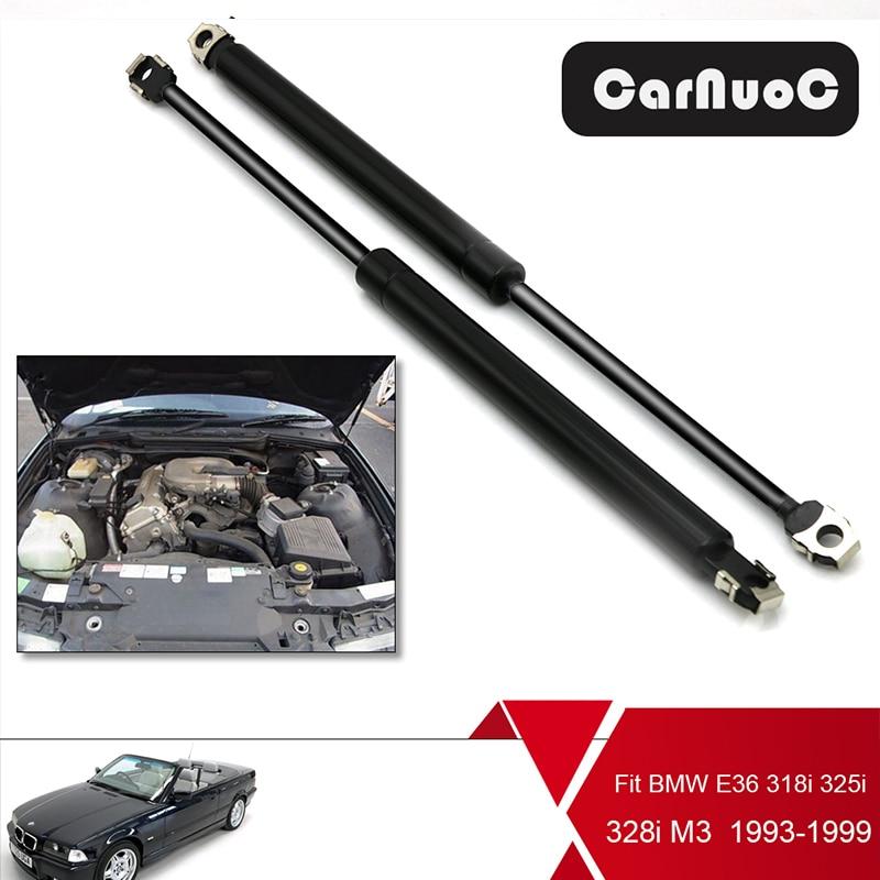 2 Tailgate Trunk GasLift Supports Shock strut for BMW E46 323i 325i M3 328i