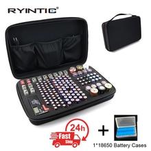 Chargeur de batterie portable boîte de rangement sac Aa Aaa batterie No 5 No. 7 9V No. 1 No. 2 sac de stockage de batterie Pack antichoc