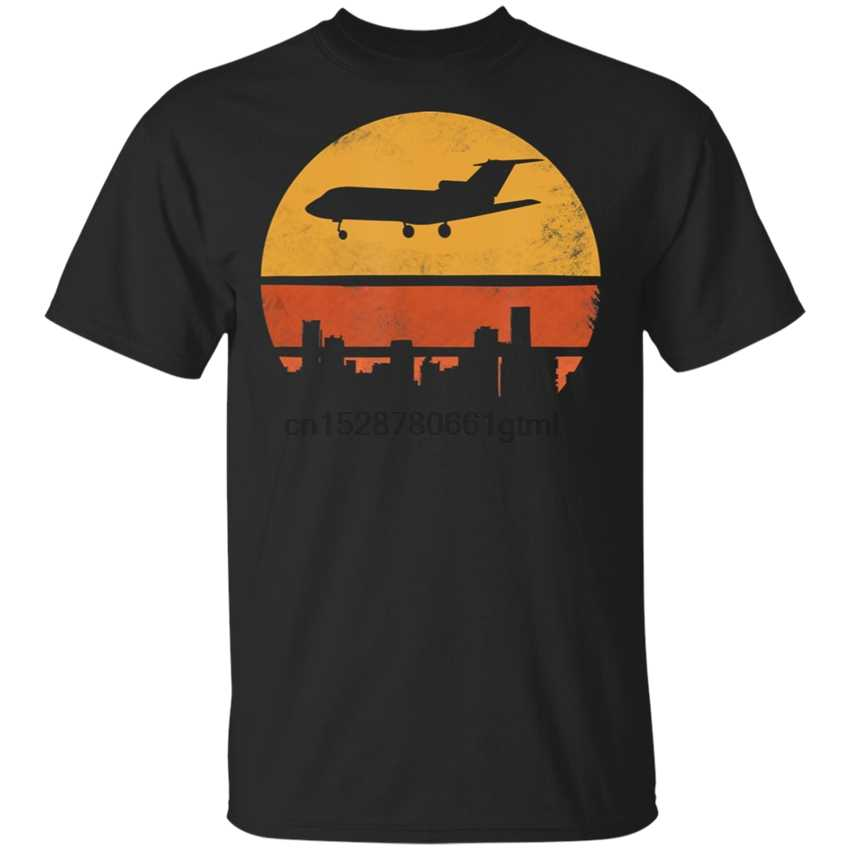 MenS Pilot Airplane Jet Flying T-Shirt Size M-3Xl Gift Funny Tee Shirt