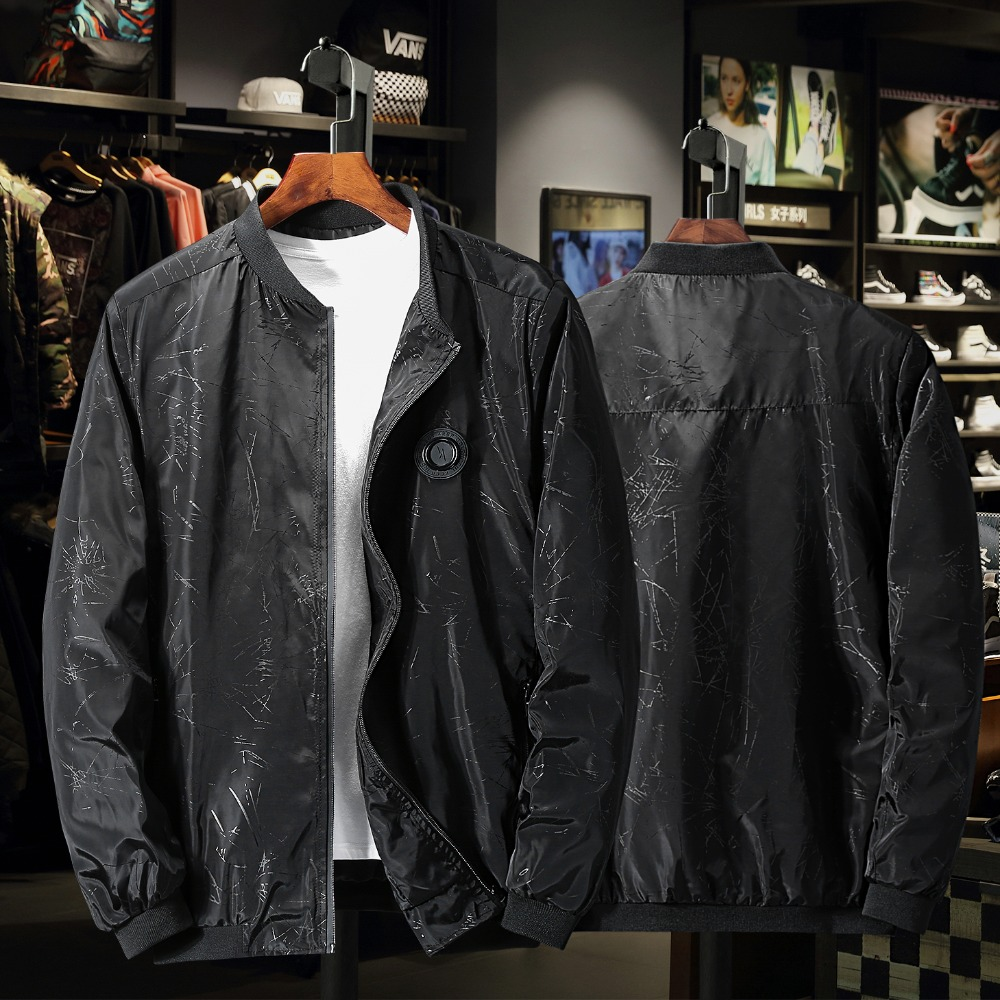 new arrival men fashion super large coat men's Print Windbreak Camouflage Jacket casual plus size 4XL 5XL 6XL 7XL 8XL 9XL