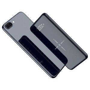 Image 2 - 10000mAh Qi Wireless Charger Power Bank Slim Poverbank ภายนอกแบตเตอรี่ Fast Wireless CHARGING Powerbank สำหรับ Xiaomi Mi 9 iPhone