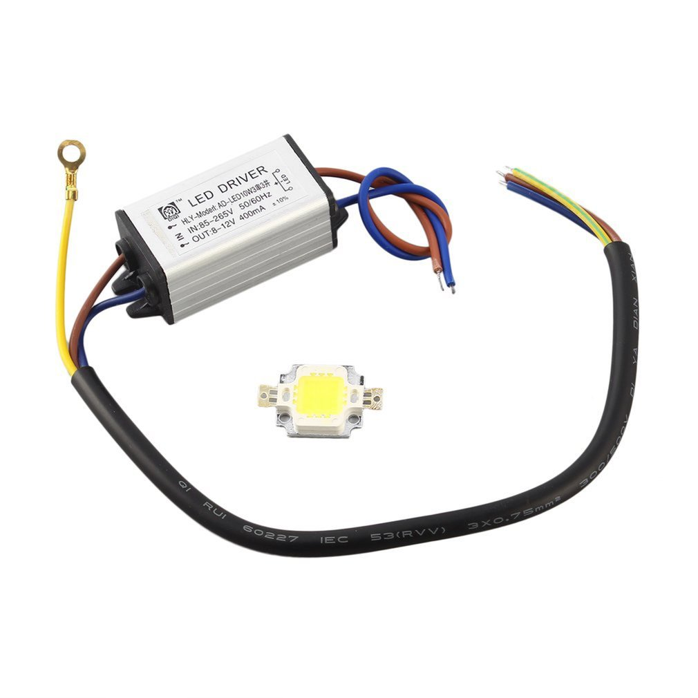 Dropshipping LED Driver Supply SMD Chip Bulbs 10W 20W 30W 50W 100W LEDs With High Power Waterproof 2018 Hot Sales