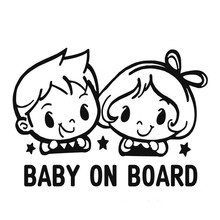 Baby Girl On Board 3D Car Stickers Motorcycle Decals Vinyl Window Stickers Car Styling #B1069