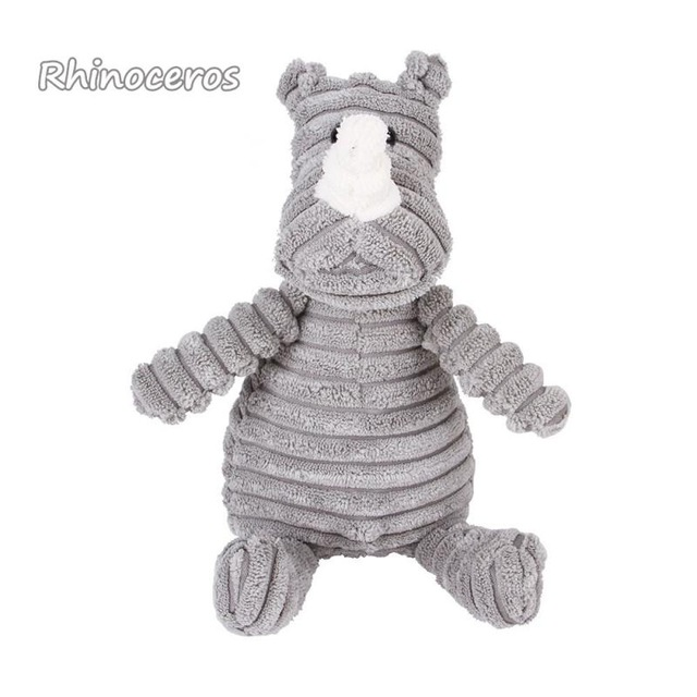 Corduroy Dog Toys for Small Large Dogs Animal Shape Plush Pet Puppy Squeaky Chew Bite Resistant Toy Pets Accessories Supplies 15