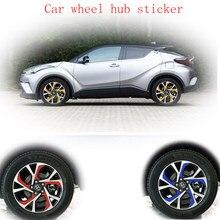 Подшипник ступицы колеса для автомобиля (Водонепроницаемый стикеры цветные накидки для автомобильных наклейка для C-HR ЧР 4 колеса/комплект