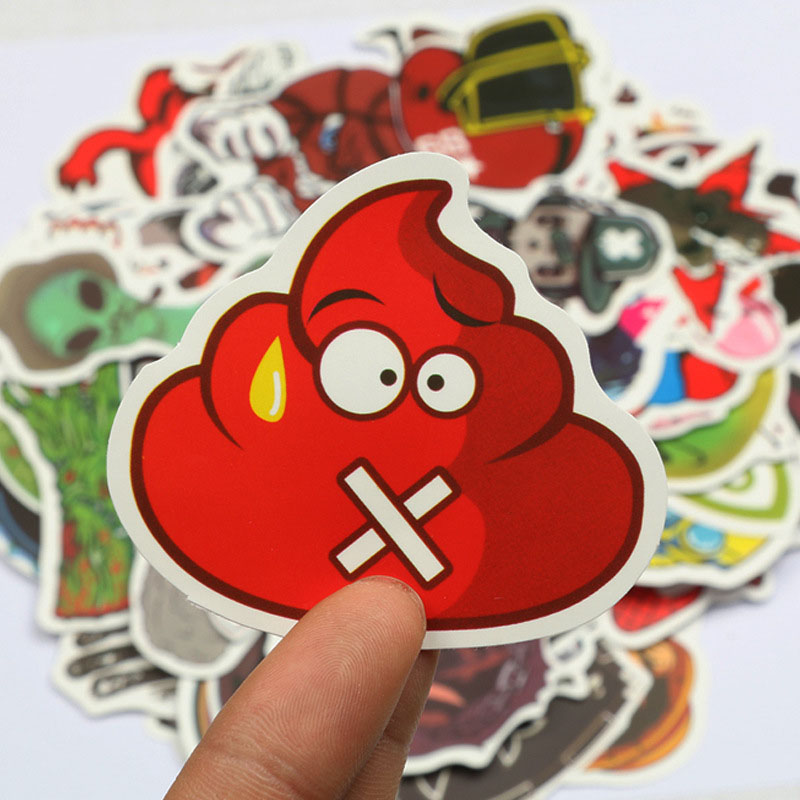 100Pc Stickers For Moto Car Stickers Skateboard For Children Cartoon Toys