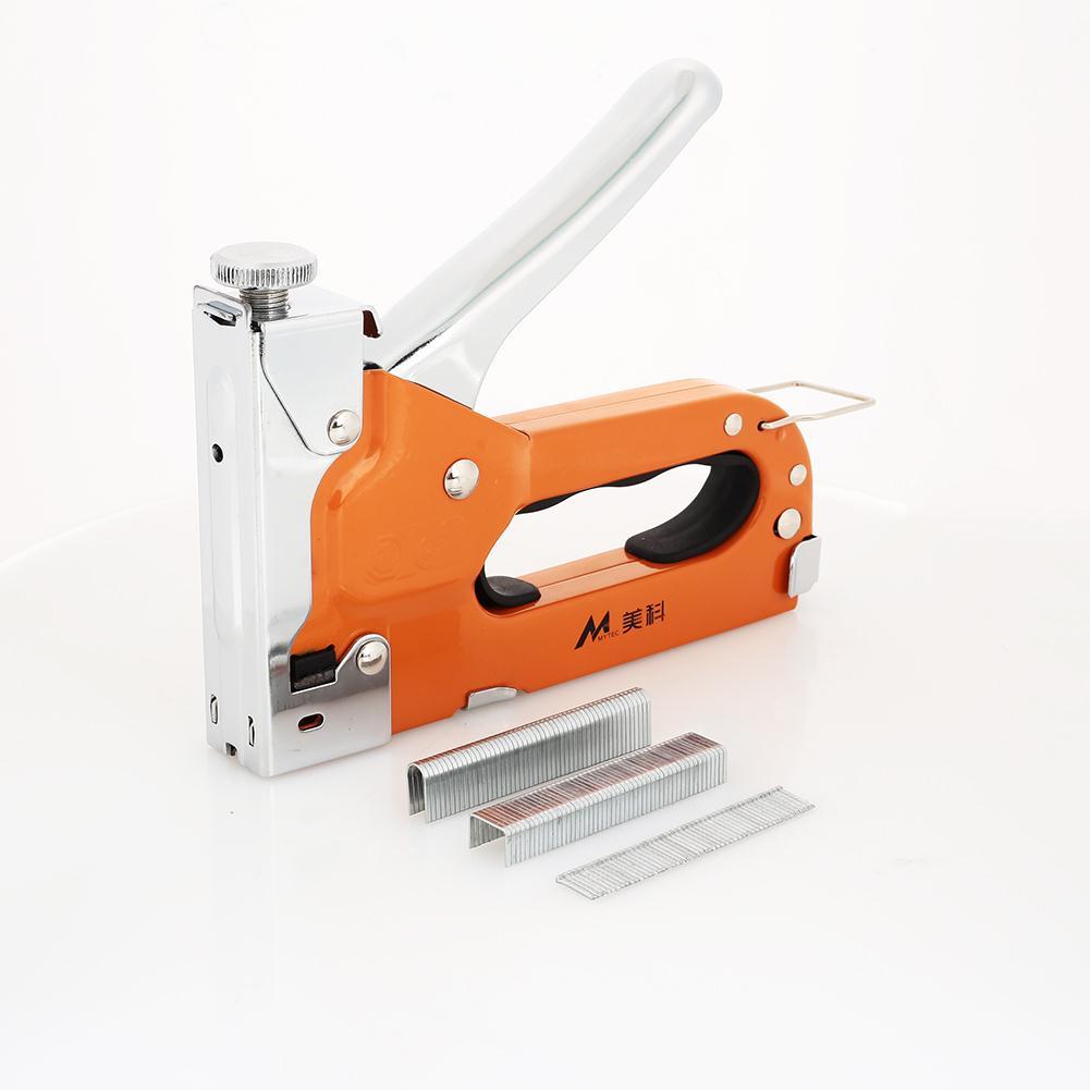Durable Door Nailer Multifunction Orange Updated Woodworking Nailers Rivet Tool Home Improvement Carpentry Metal