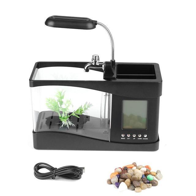 USB Desktop Mini Aquarium  3