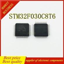 50 قطعة STM32F030C8T6 LQFP 48 أفضل جودة