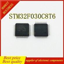50PCS STM32F030C8T6 LQFP 48 Beste qualität