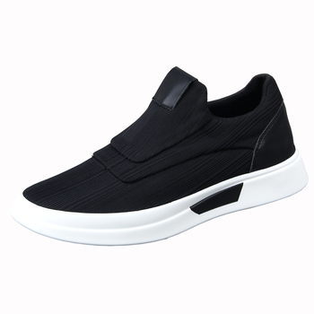 New Summer Men's Canvas Shoes Korean Version Of The Trend Of Tide Shoes Breathable Sets Of Feet White Thick