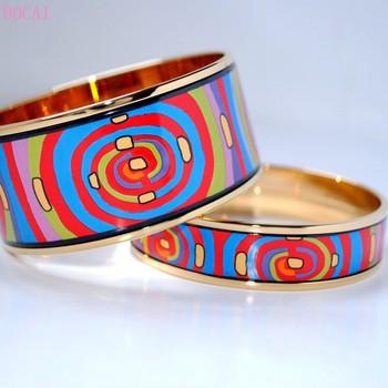 Pulsera de esmalte para mujer de BOCAI Cloisonne 2020, Nueva joyería de moda, pulsera de esmalte Cloisonne estilo ciclo de vida para mujeres