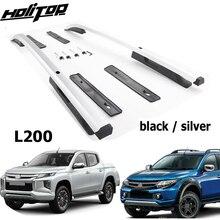 Hàng Mới Về Mái Giá Đỡ Mái Đường Sắt Mái Nhà Thanh Cho Mitsubishi L200 Triton Xuất Sắc ISO9001 Chất Lượng, cao Cấp 7075 Lớp Hợp Kim Nhôm