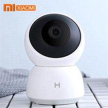 Cámara inteligente Xiaomi Mijia A1, cámara web 1296P HD con WiFi, visión nocturna Pan tilt, cámara de vigilancia panorámica con detección de movimiento 360
