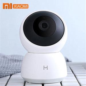 Image 1 - Xiaomi Mijia akıllı kamera A1 kamerası 1296P HD WiFi Pan tilt gece görüş 360 panoramik gözetim hareket algılama kamera