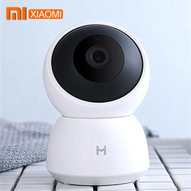 Xiaomi Mijia akıllı kamera A1 kamerası 1296P HD WiFi Pan tilt gece görüş 360 panoramik gözetim hareket algılama kamera