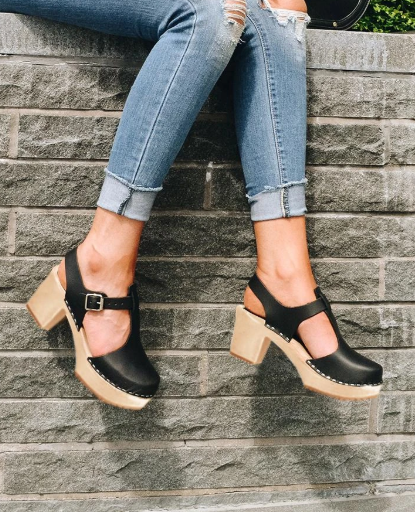2020 Summer Fashion Woman Shoes Sandals Closed Toe T-Strap Buckled Ankle  Zapatos De Mujer Sandalias De Verano Para Mujer LP603