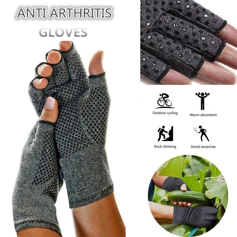 Hdc5359db6e5c4da3a181350ac04fa7a6y - 1 Pairs Arthritis Gloves Touch Screen Gloves Anti Arthritis Therapy Compression Gloves and Ache Pain Joint Relief Winter Warm
