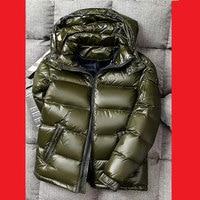 Winter Men Down Jackets Winter Boys Down Jacket Male Jacket Winter Outerwear Hooded Down Coats M L XL XXL 3XL 4XL