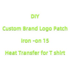 Fashion LOGO Brand Patches For Clothing Iron-on Transfers For Clothes Heat Transfer Vinyl Sticker A-level Thermal Transfer Press