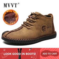 Botas de inverno botas de inverno para homens botas de inverno botas de couro para homens