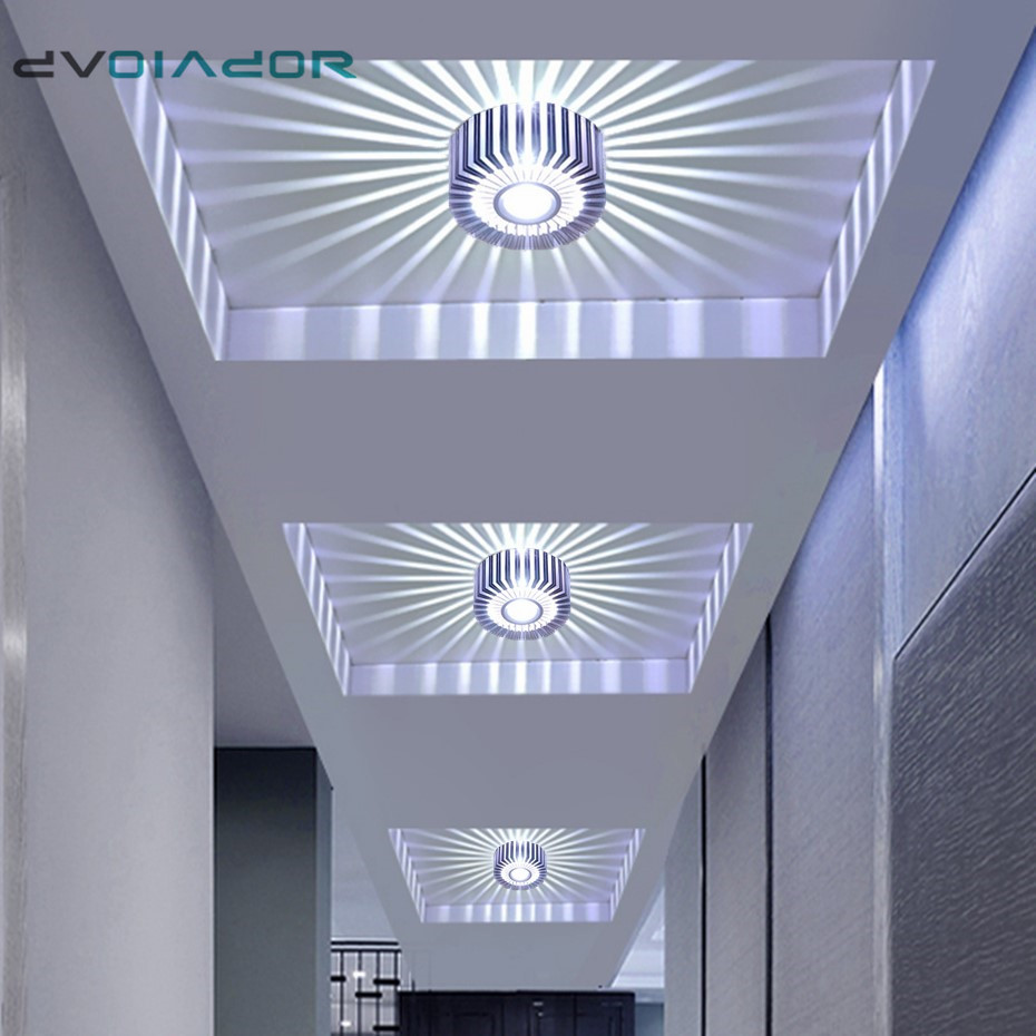 Modern Led Downlight  Recessed Spot Led Ceiling Lamp Surface Mounted Colorful Spot Light For Living Room Corridor Bar KTV Party