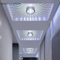 Led empotrada moderna empotrada Led Spot lámpara de techo montado en la superficie puntos colorido luz para vivir habitación pasillo Bar KTV parte
