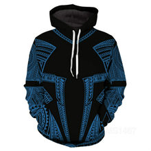 Hoodie men's 3D tattoo printing suit fashion suit hip hop street style hot sale in 2021