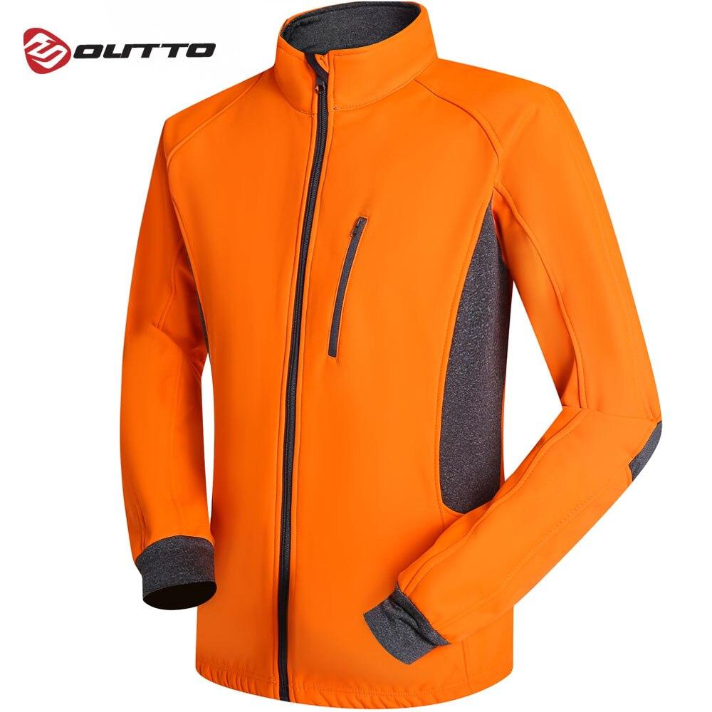Mens Bike Cycling Jersey Jacket Long Sleeve Waterproof Reflective Windbreaker