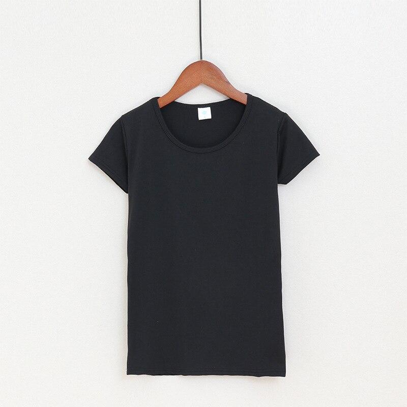 New T Shirt Women Round Neck Short Sleeve Summer Tops 2018 Fashion Shirt