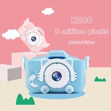 Camera Gift Digital-Photo-Camera Toy Mini Children 1080P HD Selfie-Toy Anti-Drop Ips-Screen