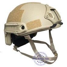 NIJ IIIA Aramid casco militar rápido a prueba de balas, casco de combate a prueba de balas para guardia de policía, protección de seguridad